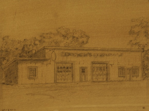 Study of Bunch's Garage
